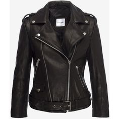 CROPPED MOTO JACKET (19.950 ARS) ❤ liked on Polyvore featuring outerwear, jackets, cropped motorcycle jacket, cropped jacket, cropped moto jacket, motorcycle jacket and moto jackets