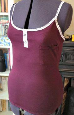 Karen from 'Did You Make That? blog's Finished Vest