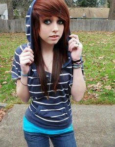 Awesome Emo Girls Be Strong And Hairstyle Photos On Pinterest Hairstyles For Men Maxibearus