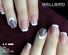 French Nails BrillBird French Nails, Beauty, French Tips, Beauty Illustration, French Manicures