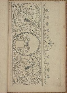 New Modelbüch (Page 20r).  Andreas Bretschneider.  1615.
