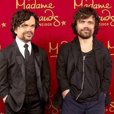 WATCH: Game of Clones? Peter Dinklage Unveils His Madame Tussauds Wax Figure