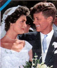 President John Kennedy and Jacqueline Kennedy, parents of John Kennedy, Jr., businessman.