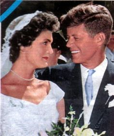 President John Kennedy and Jacqueline Kennedy, parents of John Kennedy, Jr., businessman.