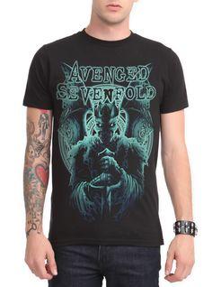 Avenged Sevenfold Blue King Slim-Fit T-Shirt | Hot Topic