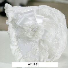 Corsage Baby Toddler Infant White Black Ivory Bonnet Hats Sunhat 3 24 Months | eBay