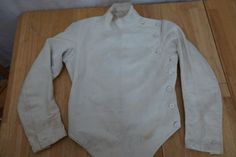 @fencinguniverse : Antique Vintage 1920's Wilkinson Canvas Fencing Jacket Sword Fighting RARE  $65.00 End Dat http://aafa.me/2caqcmU http://aafa.me/2caNzgi