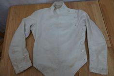 @fencinguniverse : Antique Vintage 1920's Wilkinson Canvas Fencing Jacket Sword Fighting RARE  $65.00 End Dat http://aafa.me/2caqcmU http://aafa.me/2bM63UC
