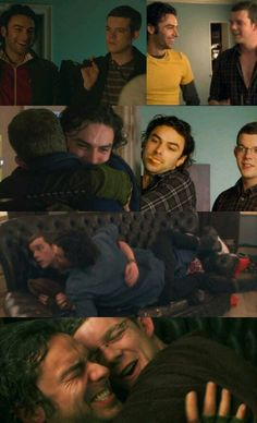 Mitchell and George: I know this is from Being Human UK, but I found it to be really cute