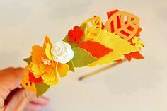 Podzimní čelenka z foamiranu Jewelry, Jewlery, Jewerly, Schmuck, Jewels, Jewelery, Fine Jewelry, Jewel, Jewelry Accessories