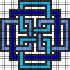 Pearl geometric square pattern of pearl minecraft pixel art grid maker anime ideas … – minecraft – Hama Beads Kandi Patterns, Perler Patterns, Beading Patterns, Embroidery Patterns, Bracelet Patterns, Art Patterns, Knitting Patterns, Crochet Patterns, Jewelry Patterns