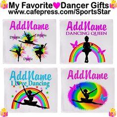 Beautiful Dancer & Ballerina fleece blankets.  http://www.cafepress.com/sportsstar/10423569 #Dancer #Dancergifts #Ballet #Ballerina  #Personalizeddancer #Ballerinablanket