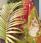 Hand Painted Sarees, Handloom Saree, Art Forms, Plant Leaves, Painting, Painting Art, Paintings, Painted Canvas, Drawings