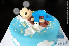 Mickey Mouse Baby Cake by Michael Almeida