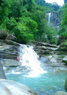 Nangalisan Falls in La Union #Philippines #Pilipinas #Pinas #Pinoy #Filipino #travel #vacation #wanderlust