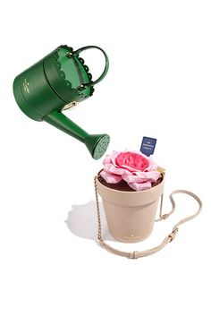 Discover your green thumb with quirky #bags by Kate Spade New York.
