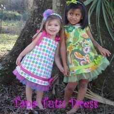 Fairytale Frocks and Lollipops :: Nanoo Designs, Tana Tutu dress, Girls dres pattern, sewing pattern, nanette baldwin, party, princess, birthday, holiday, special occasion, play, dress-up, tea party, sewing, instant, download, e-pattern, e-book, tutorial,
