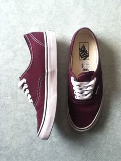 Really wanting maroon vans...They're like the best color of vans and I don't know why