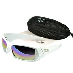 Oakley Gascan Sunglasses Polished White