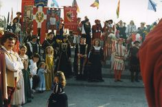 Costume pageant in Capoliveri, Tuscany