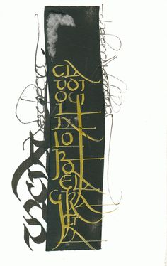 Calligraphy by Cláudio Gil