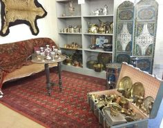 Our Moroccan themed room set in Auction 28/9/16 at BourneEndAuctionRooms