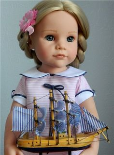 Hairstyles for Gotz / Dolls Gotz - collectible and play Gotz / Beybiki. Dolls photo. Doll clothes