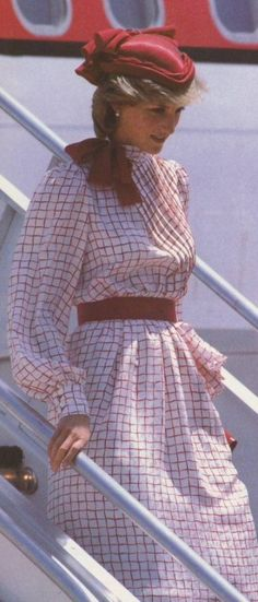 June 14 1983 Diana, Princess of Wales, visit Canada. Halifax, Nova Scotia