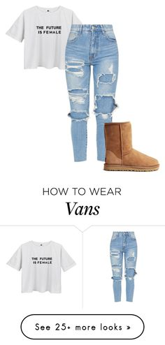 """""""What up """" by queenzzjay on Polyvore featuring UGG Australia"""