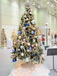 {Xmas Tree Idea} Ocean Blues & Greens - Christmas Ornaments and Christmas Decorations - Zimbio