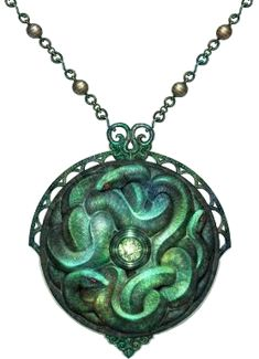 pictures of magical amulets | Serpent_amulet.png