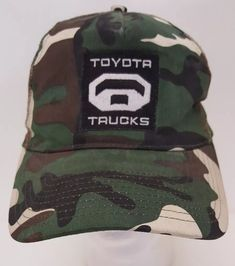 Toyota Trucks Camo Mesh Trucker Snapback Hat Camouflage Baseball Cap Tacoma  Dad  Toyota  BaseballCap 5f467e5e95f1