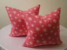 Set of 16x16 Decorative Throw Pillow Cover. by ElizabethDecors, $31.95