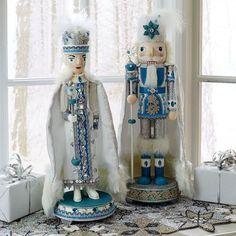 Tiffany Blue Nutcrackers