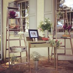 Ladder floral display