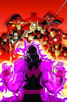 There came a day unlike any other that not only ushers in the Heroic Age of but unleashes onto the world the most blockbuster Avengers team ever! Next Avengers, Avengers Team, Avengers Comics, Comic Book Artists, Comic Artist, Comic Books, Heroic Age, John Romita Jr, Brian Michael Bendis