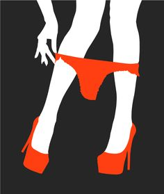 """Burlesque Girl No. 1 Screen print on Somerset 300 gsm paper. Limited edition of 30, signed by artist. 60"""" x 92"""""""