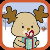 """Elly Book 1 - the birthday party, $0.99. Jane Farrall--The first in a series of books about Elly the Reindeer. Has two or three sentences on most pages. Has """"read to me"""" or """"read it myself"""" options."""