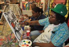 Bring your friends, open a bottle, and experience painting in a fun.
