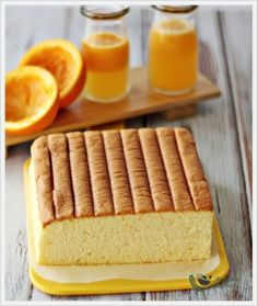 Orange Ogura Cake | Anncoo Journal - Come for Quick and Easy Recipes