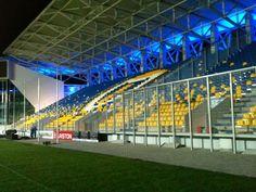 Stadionul Ilie Oană, Ploieşti, Rumania. Capacidad 15.500 espectadores, Equipo local Petrolul Ploieşti. Ale, Tennis, Romania, Real Tennis, Ales
