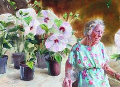 Perennial by Mary Whyte | American Watercolor Artist