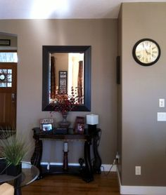 Karens Color Consultation traditional living room benjamin moore cabot trail
