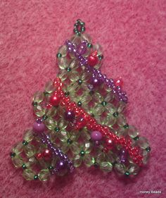 Cute little Christmas Ornament (Tutorial on Youtube) Facebook.com/DIYchristmas