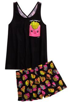 French Fries Pajama Set