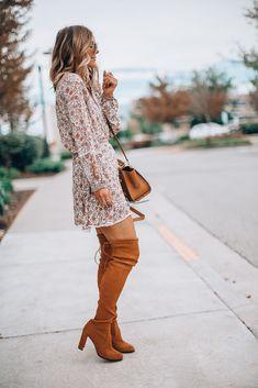 5d8d609c05199e 15 Top Winter dresses with boots images