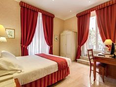 Rome Roman Terrace Guest House Italy, Europe Located in Termini Central Station, Roman Terrace Guest House is a perfect starting point from which to explore Rome. Offering a variety of facilities and services, the hotel provides all you need for a good night's sleep. To be found at the hotel are free Wi-Fi in all rooms, luggage storage, Wi-Fi in public areas, airport transfer, tours. Guestrooms are designed to provide an optimal level of comfort with welcoming decor and some o...