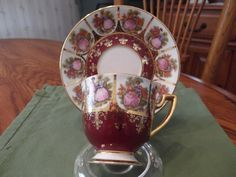 Courtship Demitasse cup and saucer