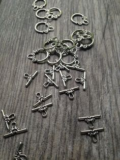 A personal favorite from my Etsy shop https://www.etsy.com/listing/236217295/silver-tone-toggle-clasps