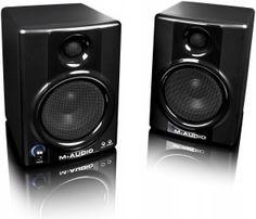M-Audio AV 40 Studio Monitors http://ehomerecordingstudio.com/cheap-studio-monitors/